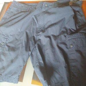 Men Nautica Cargo Shorts Size 42